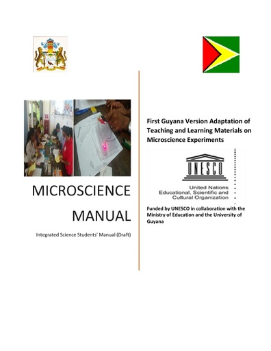 Integrated Science Students' Manual