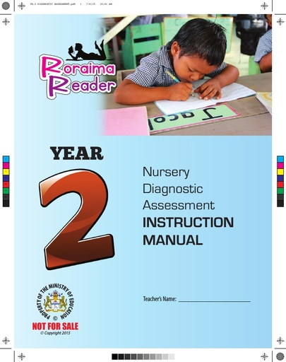 Nursery Diagnostic Assessment Instruction Manual Year 2