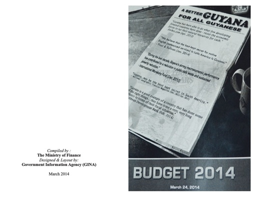 Budget at a Glance 2014