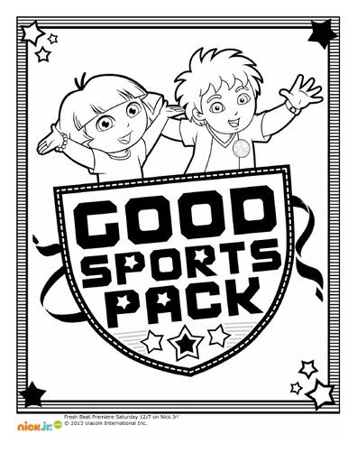 Dora & Diego Good Sports Pack
