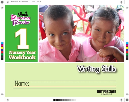 Workbook Writing Skills Year 1