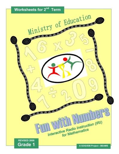 IRI Fun with Numbers Worksheets Grade 1 Term 2 IRI book 2