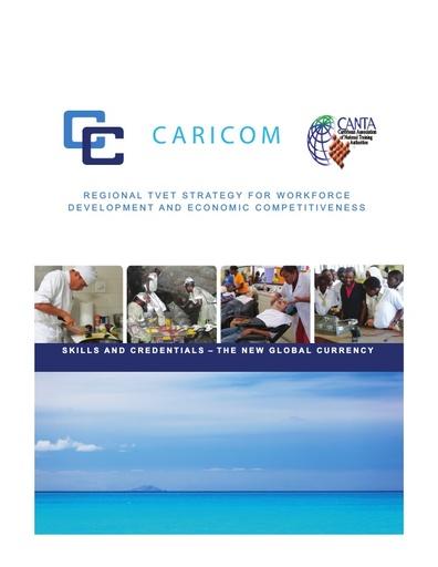 CARICOM Regional TVET Strategy 2014