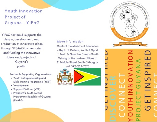 Youth Innovation Project of Guyana YIPOG Brochure
