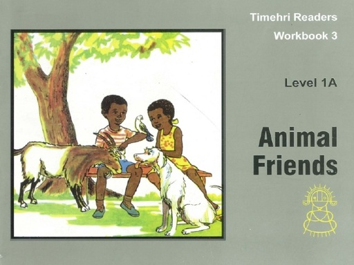 Animal Friends Timerhi Readers WorkBook 3 Level 1A