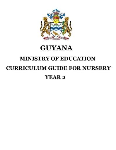 Nursery Curriculum Guide Yr 2