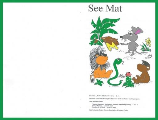 See Mat Set 1 Book 6