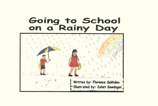 Going to school on a rainy day