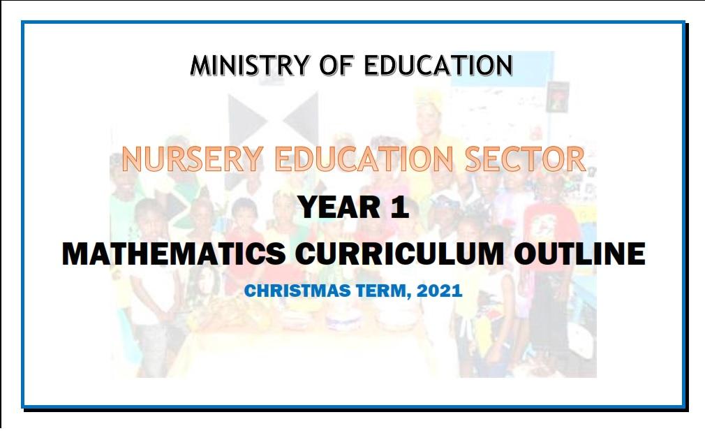 Numeracy Year 1 Christmas Term - 2021 - Curriculum Outline
