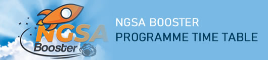 NGSA Booster TimeTable