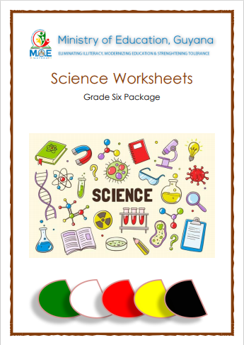 Science Worksheets - Grade Six Study Package